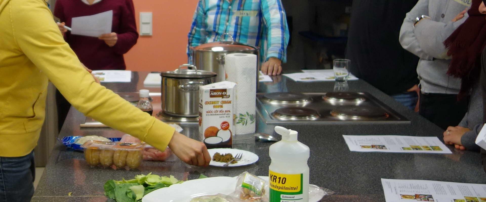 Kurs : Grüner Thai-Curry