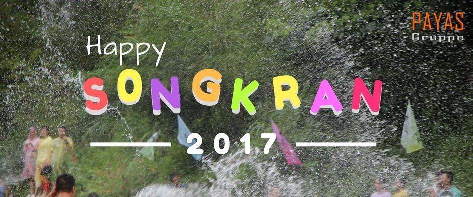 """🍻 Frohes thailändisches neues Jahr 2017 """"Songkran"""""""