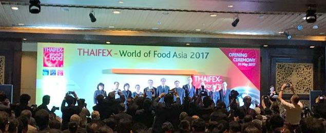 🌏 THAIFEX-Ernährungsmesse: World of Food Asia 2017 in Thailand gestartet
