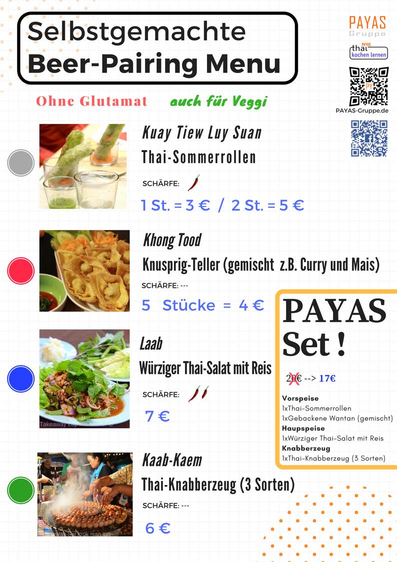 Menu- Food PairingV1