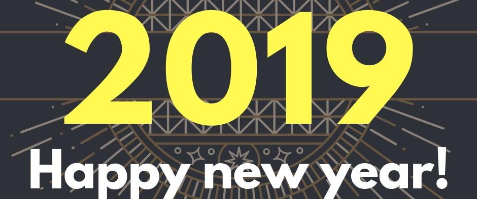 🎇 Happy New Year 2019 🎇